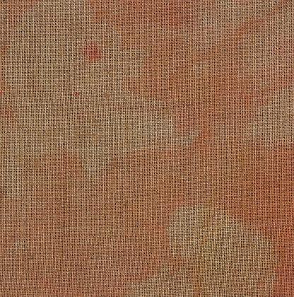 32 Count Halloween Pumpkin Fat Quarter Hand-Dyed Linen by xJudesign