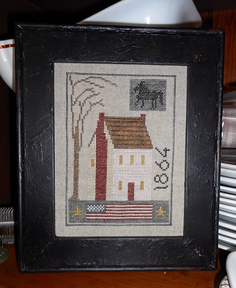 1864 House Sampler by Chessie & Me