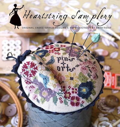 Pins & Orts Stitching Companion by Heartstring Samplery