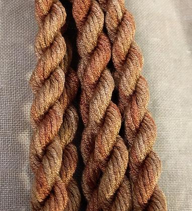 Honey Bronze Gloriana 12-Strand Silk 6 Yards