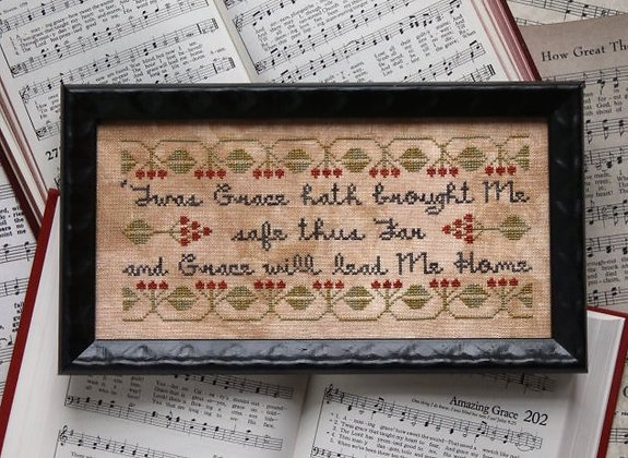Sunday Stitches: Amazing Grace by Heartstring Samplery