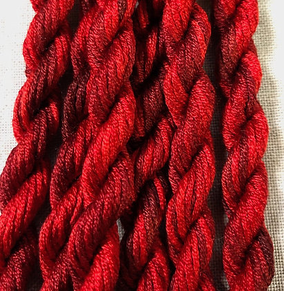 Black Cherry Gloriana 12-Strand Silk 6 Yards