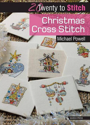 CATS: Christmas Cross Stitch by Michael Powell