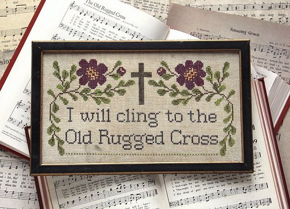 Sunday Stitches: The Old Rugged Cross by Heartstring Samplery