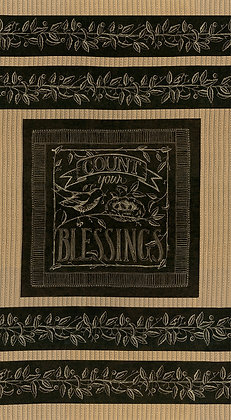 Count Your Blessings BLACKBOARD by Kathy Schmitz for Moda