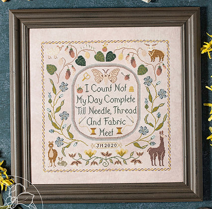 From Nature to My Needle by Blue Flower Designs