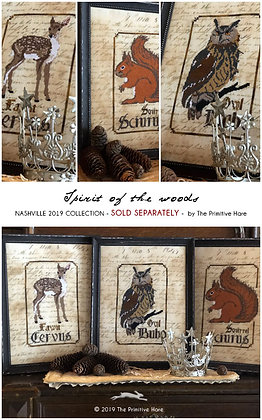 30 Count Boleyn Linen by The Primitive Hare 19 by 15 inches