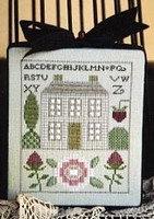 CATS Rose Cottage Sampler by Ewe & Eye & Friends