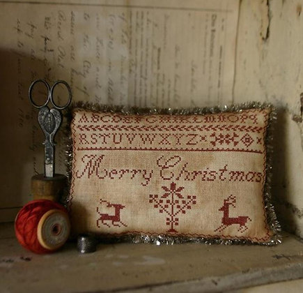 Merry Christmas Pinkeep by Stacy Nash Primitives