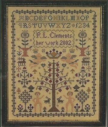 Adam and Eve Sampler by PLC Traditional Samplers