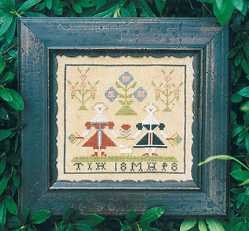 1848 Reproduction Sampler by Carriage House Samplings