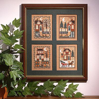 Four Seasons by The Prairie Schooler