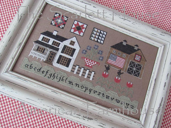 American Farmhouse by The Scarlett House
