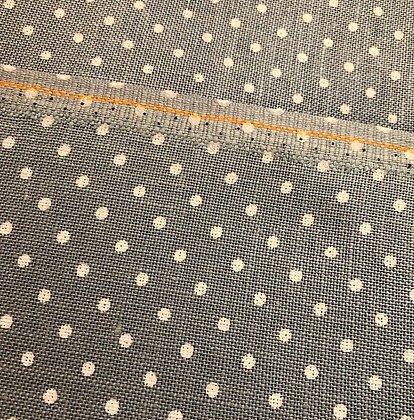 Fat Eighth 32 Count Blue/White Polka Dot Linen by Zweigart