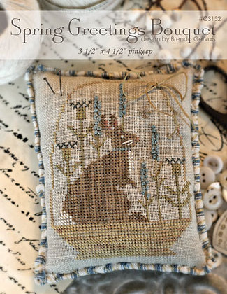 *Spring Greetings Bouquet by With Thy Needle & Thread