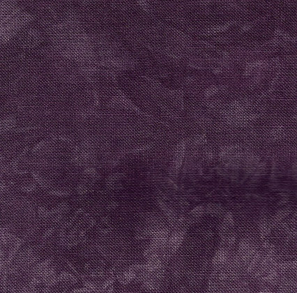 32 Count French Lilac Fat Quarter Hand-Dyed Linen by Picture This Plus