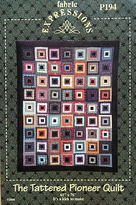 CATS Tattered Pioneer Quilt by Fabric Expressions (quilt pattern)