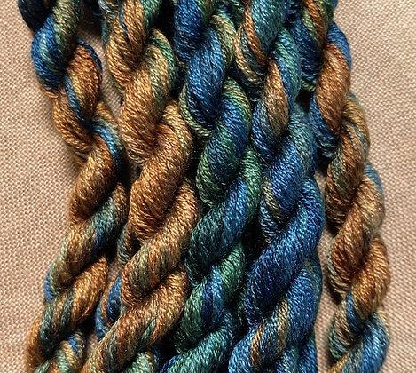 Blue Grass Gloriana 12-Strand Silk 6 Yards
