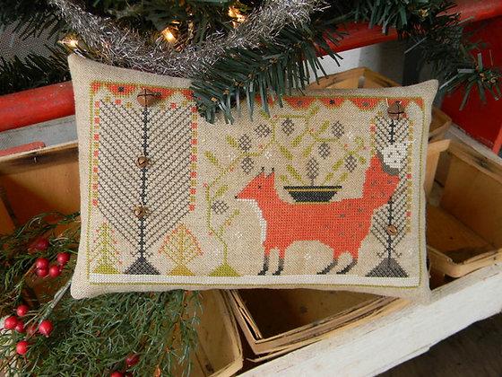 Winter Fox Sampler by Notforgotten Farm