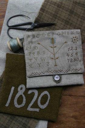 *1820 Woolen Sewing Bag by Stacy Nash Primitives