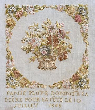 Fanie Pluye 1848 by Reflets de Soie