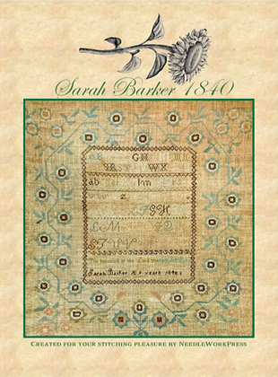 NASH-STASH Sarah Barker 1840 by Needlework Press