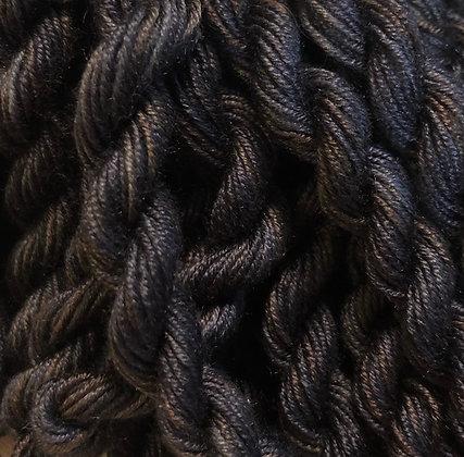 Gloriana Antique Black Florimell Hand-Dyed Silk 5-Yard Skein