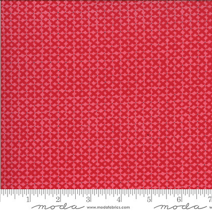 CROSS STITCH ROSEY Cotton Quilting Fabric by Sophie/Moda