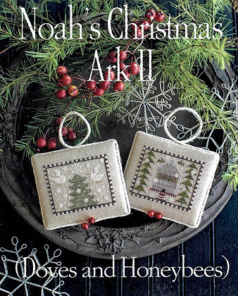 *Noah's Christmas Ark II by Plum Street Samplers
