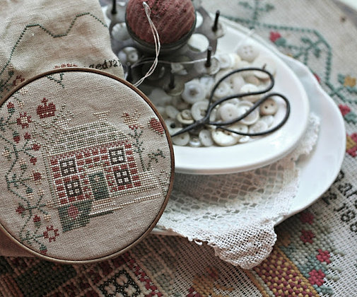J.M. Gardner 1888 Sampler Reproduction by With Thy Needle & Thread