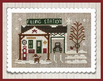 Pop's Filling Station (Home Town Holiday) by Little House Needleworks/Clas