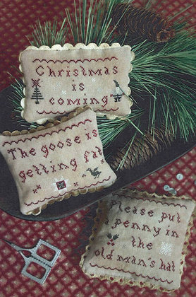 Christmas is Coming by Plum Street Samplers
