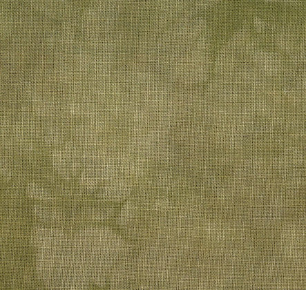 40 Count Caramel Fat Quarter Hand-Dyed Linen by Fiber on a Whim