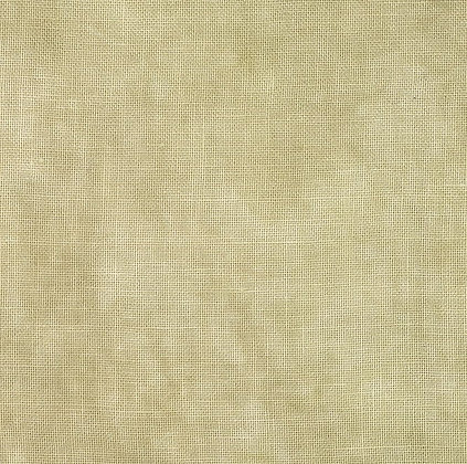 36 Count Eggshell Fat Quarter Hand-Dyed Linen by Fiber on a Whim