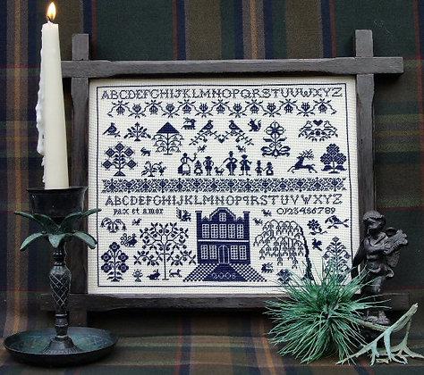 Scottish House Sampler by The Sampler Company/Brenda Keyes