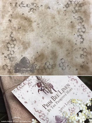 30 Count Prim Bee Linen by The Primitive Hare