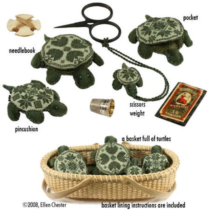 Quaker Turtles by With My Needle