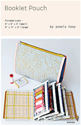 Booklet Pouch by Aneela Hoey