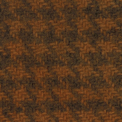 PUMPKIN (Houndstooth) Fat Quarter Wool by Primitive Gatherings for Moda