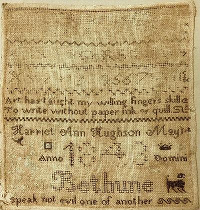 Harriet Ann Hughson by Needlework Press