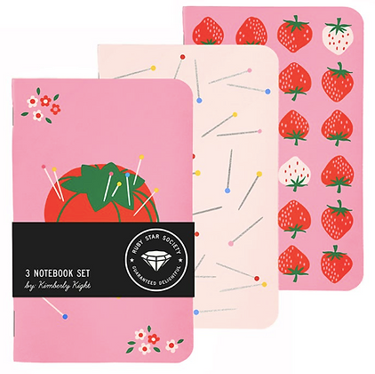 LIMITED! Kimberly Tomato Notebook Set by Ruby Star Society RS 7019