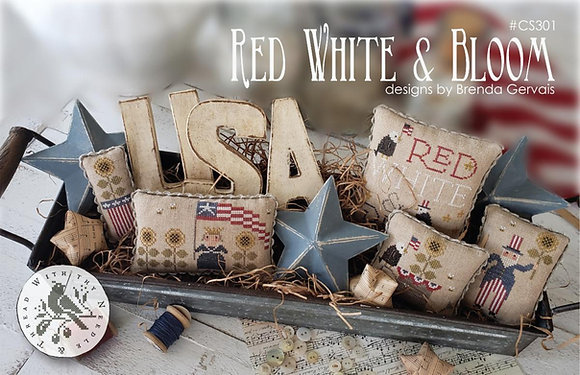 Red White & Bloom by With Thy Needle & Thread