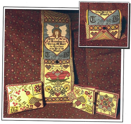 Fraktur Huswif Part I by Heart's Ease Examplar Workes