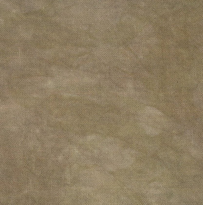 40 Count Espresso Fat Quarter Hand-Dyed Linen by Fiber on a Whim