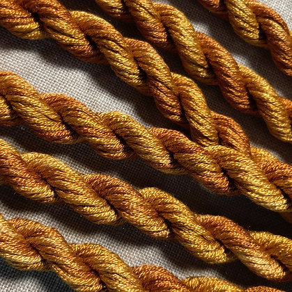 Old Gold Gloriana 12-Strand Silk 6 Yards