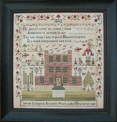 Sarah Elizabeth Brooke 1842 by The Scarlett House