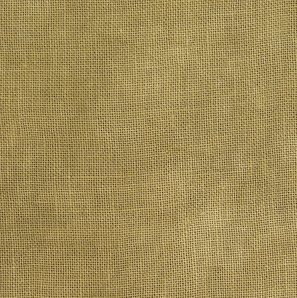 32 Count Aged Saffron Fat Quarter Hand-Dyed Linen by Dames of the N