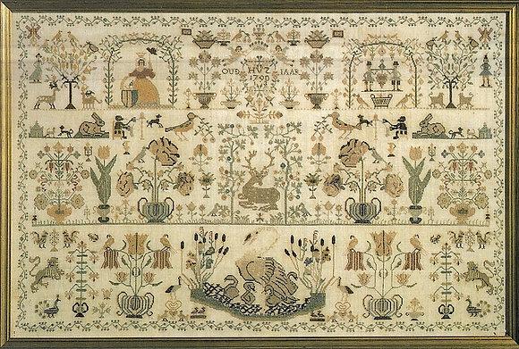 Dutch Beauty Sampler 1790 by Permin of Copenhagen