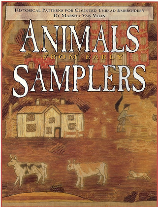 Animals From Early Samplers by The Scarlet Letter