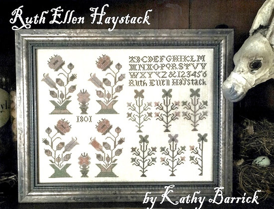 Ruth Ellen Haystack by Kathy Barrick